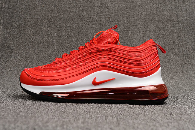Where To Buy Wholesale Cheap Womens Nike Air Max 97 720 Red White Black - www.wholesaleflyknit.com