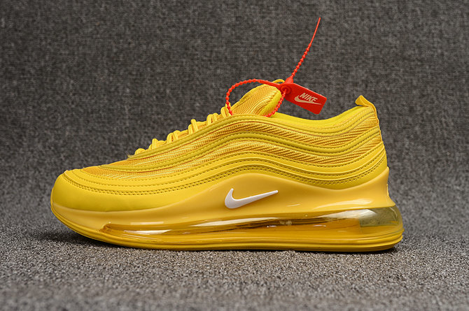 Where To Buy Wholesale Cheap Womens Nike Air Max 97 720 Triple Yellow - www.wholesaleflyknit.com