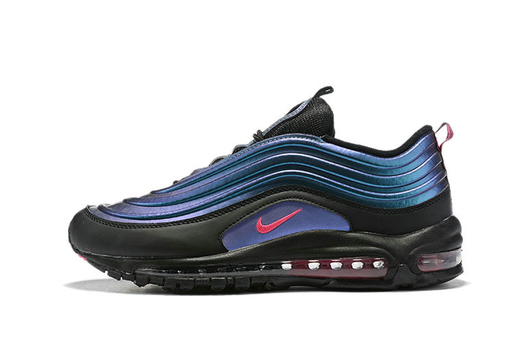 Where To Buy Wholesale Cheap Womens Nike Air Max 97 LX Blue Black Pink - www.wholesaleflyknit.com