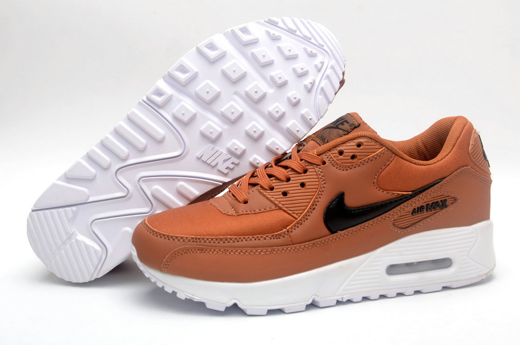 Where To Buy Cheap Wholesale Womens Nike Air Maxs 90 Bison-Baroque Brown Black White - www.wholesaleflyknit.com