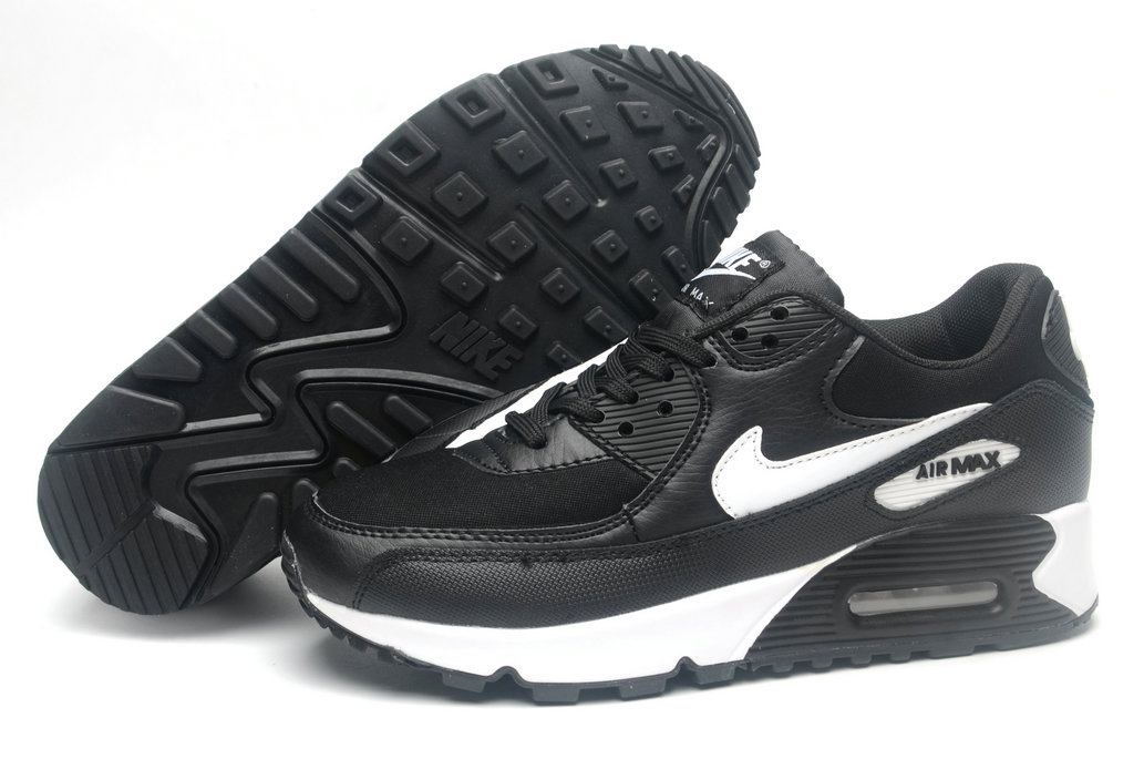 Where To Buy Cheap Wholesale Womens Nike Air Maxs 90 Black White-Anthracite-White 845039-001 - www.wholesaleflyknit.com