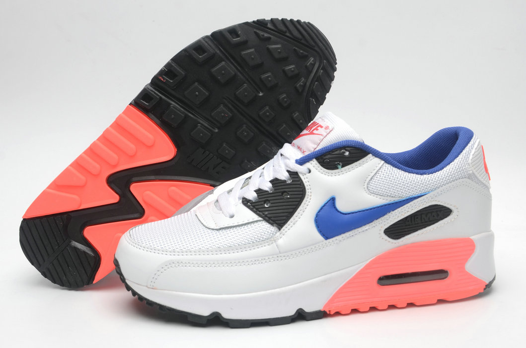 Where To Buy Cheap Wholesale Womens Nike Air Maxs 90 Ultramarine White Blue Pink - www.wholesaleflyknit.com