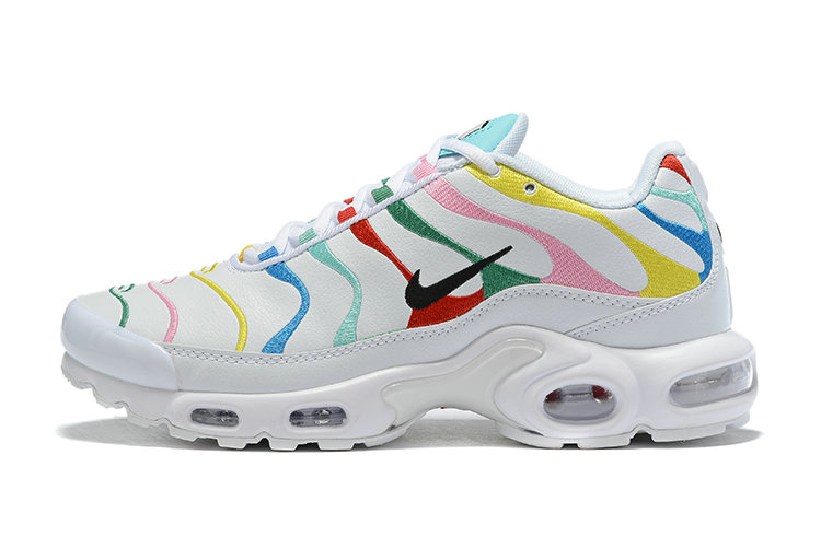 Where To Buy Cheap Wholesale Womens Nike Air Maxs Plus Multicolor White Unisex Running Shoes AQ5117-101 - www.wholesaleflyknit.com