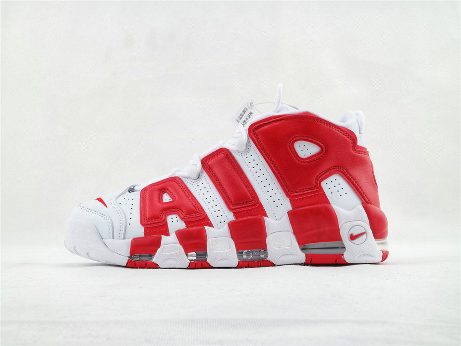 Where To Buy Wholesale Cheap Womens Nike Air More Uptempo Gym Red OG 414962-100 - www.wholesaleflyknit.com