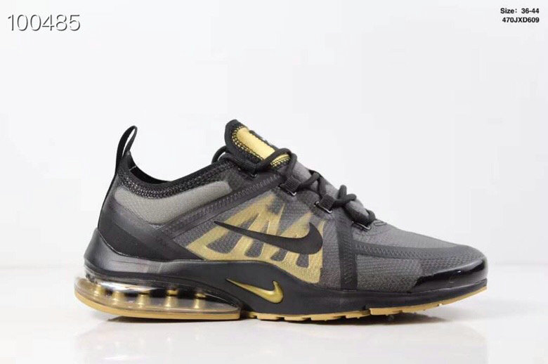 Where To Buy Cheap Wholesale Womens Nike Air PresTo x VaporMax 2019 Black-Metallic Gold - www.wholesaleflyknit.com