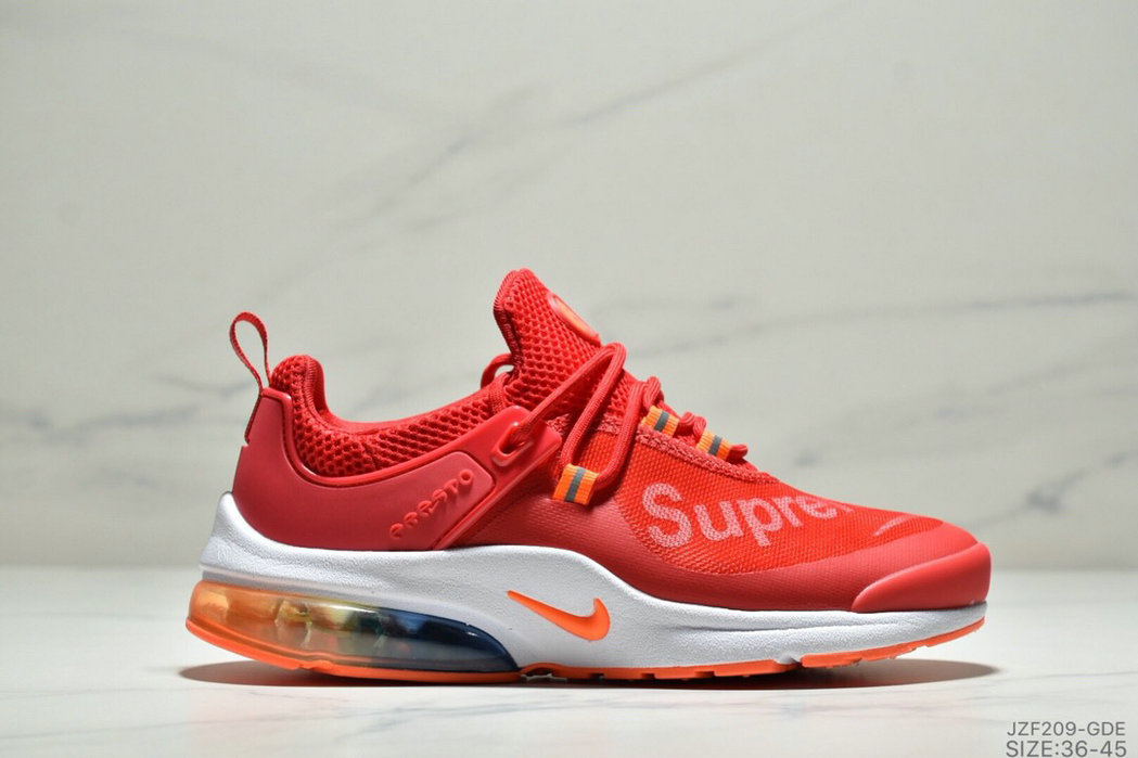 Where To Buy Cheap Wholesale Womens Nike Air Presto Supreme University Red White Orange - www.wholesaleflyknit.com