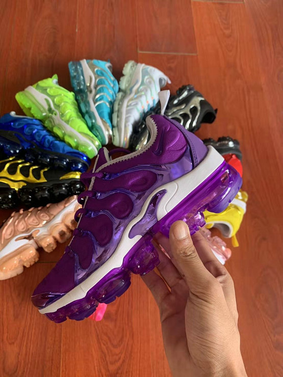 Where To Buy Cheap Wholesale Womens Nike Air VaporMax Plus TN Purple White - www.wholesaleflyknit.com