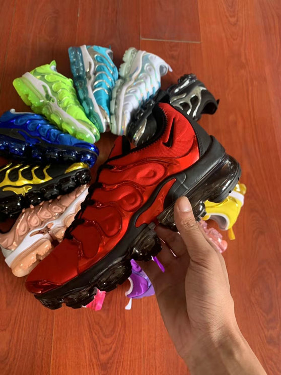 Where To Buy Cheap Wholesale Womens Nike Air VaporMax Plus TN University Red Black - www.wholesaleflyknit.com