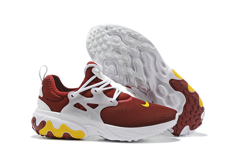 Where To Buy Cheap Wholesale Womens Nike Epic React Flyknit Deep Red White Yellow - www.wholesaleflyknit.com
