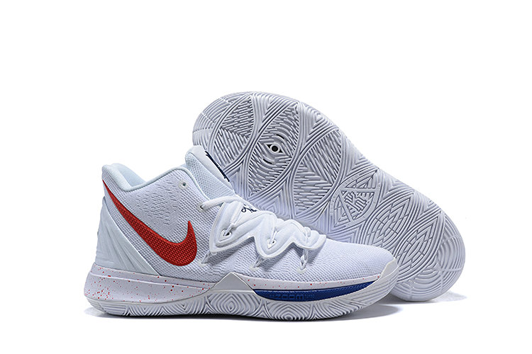 Where To Buy Cheap Wholesale Womens Nike Kyrie 5 UConn HuskiesWhite Exclusives - www.wholesaleflyknit.com