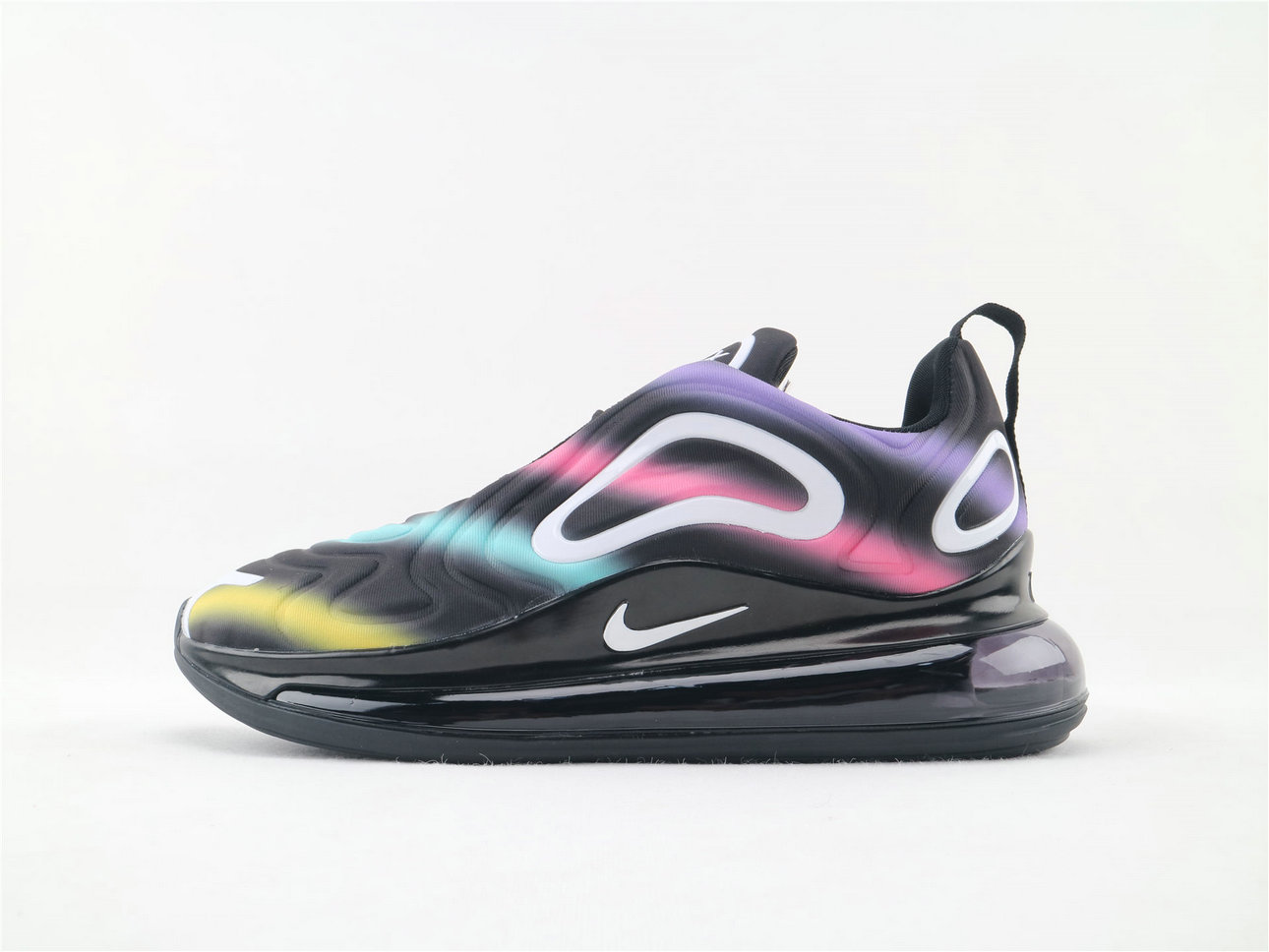 Where To Buy Wholesale Cheap Womens Nike Sportwear Air Max 720 Black Colorful AO2924 024 - www.wholesaleflyknit.com