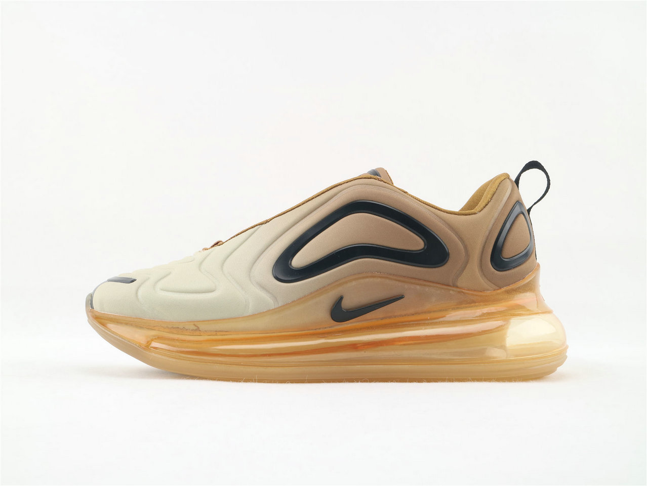 Where To Buy Wholesale Cheap Womens Nike Sportwear Air Max 720 Desert Gold Black AO2924-700 - www.wholesaleflyknit.com