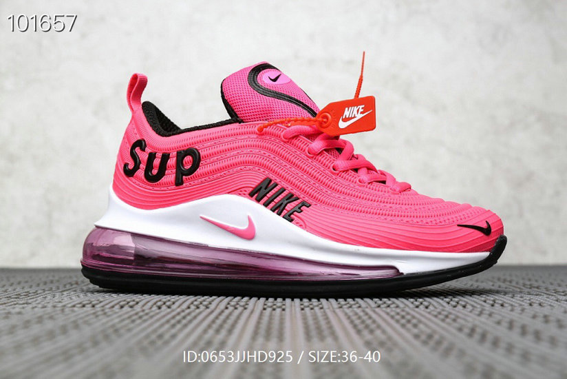 Where To Buy Wholesale Cheap Womens Supreme x Nike Air Max 97 Pink Black White - www.wholesaleflyknit.com