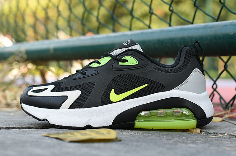 Where To Buy Womens Womens 2020 Cheap Wholesale Nike Air Max 200 Fluorescent Green Black White - www.wholesaleflyknit.com
