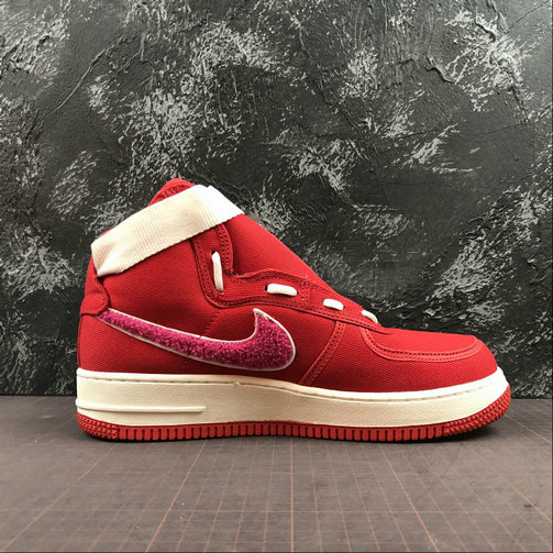 Womens 2019 Wholesale Cheap Emotionally Unavailable x Nike Air Force 1 High Team Red Sail Pink Blast Equipe Rouge AV5840-600 - www.wholesaleflyknit.com
