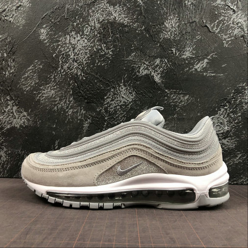 Womens 2019 Wholesale Cheap Nike Air Max 97 wolf Grey AT0071-001 - www.wholesaleflyknit.com
