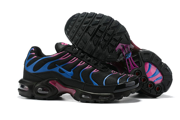 Womens 2019 Wholesale Cheap Nike Air Max Plus TN Blue Pink Black - www.wholesaleflyknit.com