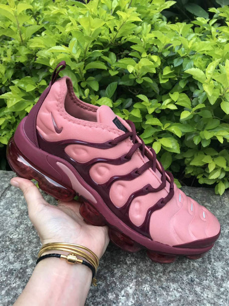 Womens 2019 Wholesale Cheap Nike Air VaporMax Wine Red Pink - www.wholesaleflyknit.com