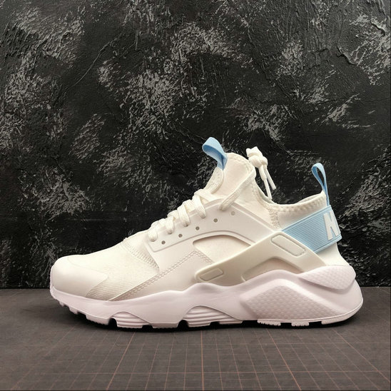 Womens 2019 Wholesale Cheap Nike Huarache Run Ultra GS 847568-014 Beige White - www.wholesaleflyknit.com
