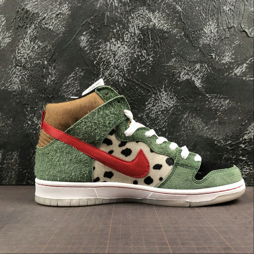 Womens 2019 Wholesale Cheap Nike SB Dunk High Walk The Dog BQ6827-300 - www.wholesaleflyknit.com