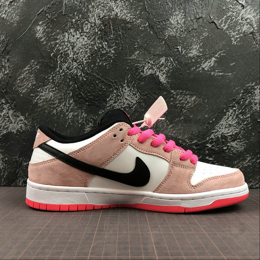 Womens 2019 Wholesale Cheap Nike SB Dunk Low Trd QS QB6232-901 Dirty Pink SB Skateboard Shoes - www.wholesaleflyknit.com