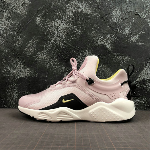 Womens 2019 Wholesale Cheap Nike W Air Huarache City Move Plum Chalk - www.wholesaleflyknit.com