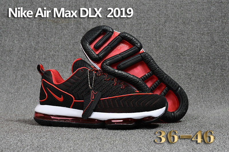 Wholesale Cheap Womens Air Max Nike Air Max DLX 2019 Mens Red Black - www.wholesaleflyknit.com