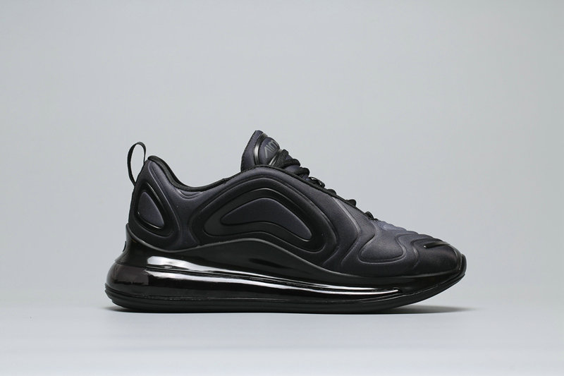 Womens Cheapest Wholesale Nike Air Max 720 Black Grey Gradual Change Noires AR9293-003 - www.wholesaleflyknit.com