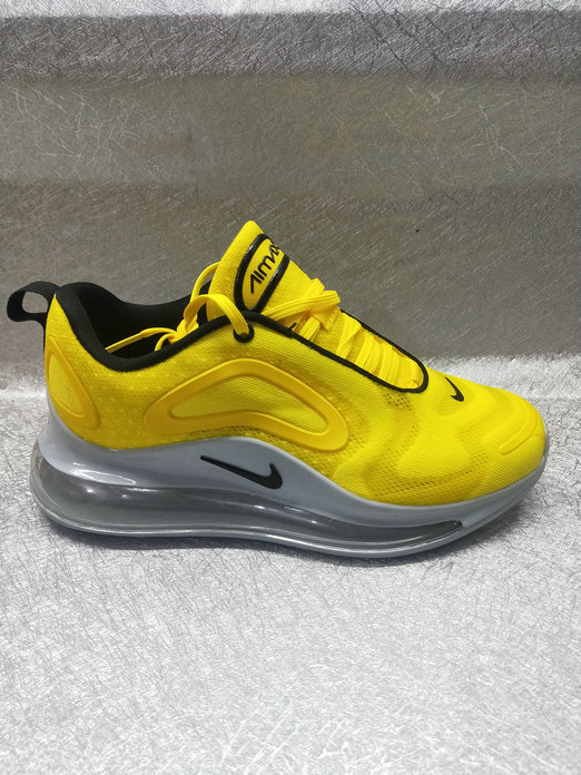 Womens Cheapest Wholesale Nike Air Max 720 New Arrival In Yellow Black - www.wholesaleflyknit.com