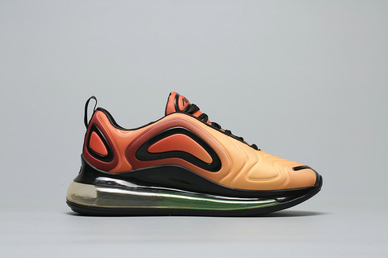Womens Cheapest Wholesale Nike Air Max 720 Orange Gradual Change Oranger A02924-800 - www.wholesaleflyknit.com