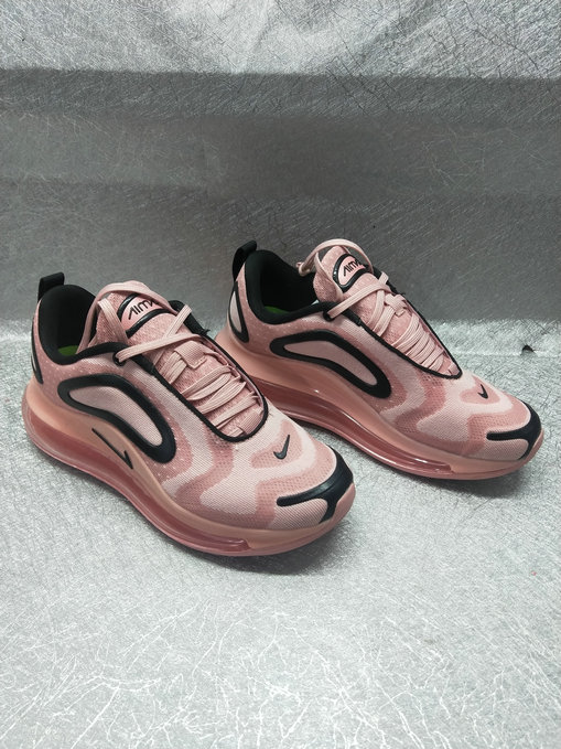 Womens Cheapest Wholesale Nike Air Max 720 Run 2019 Rose Pink Black - www.wholesaleflyknit.com