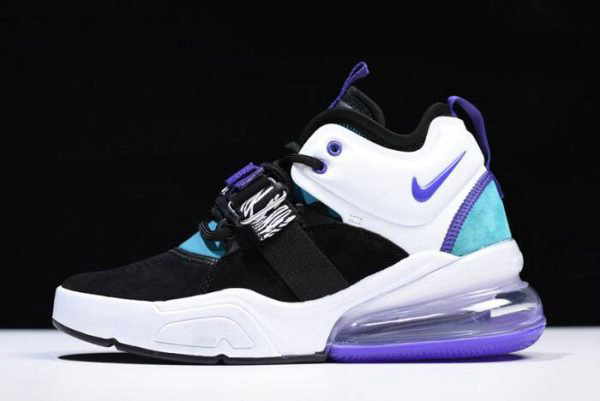 Cheap Wholesale Womens Nike Air Force 270 Carnivore Black Court Purple-Dark Atomic Teal AH6772-005 - www.wholesaleflyknit.com
