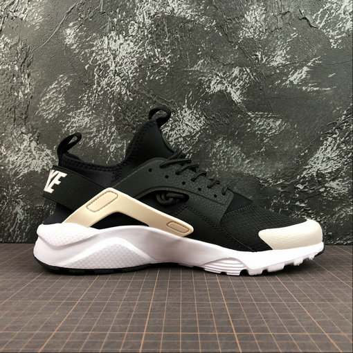 Cheap Wholesale Womens Nike Air Huarache Run ULTRA 847568-010 Black Barely Rose White Noir Blanc A Peine Rose - www.wholesaleflyknit.com