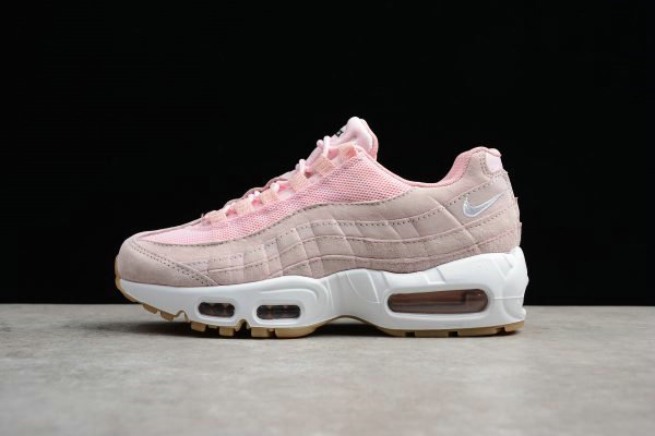 Cheap Wholesale Womens Nike Air Max 95 SD Prism Pink White-Sheen-Black 919924-600 Running Shoes - www.wholesaleflyknit.com