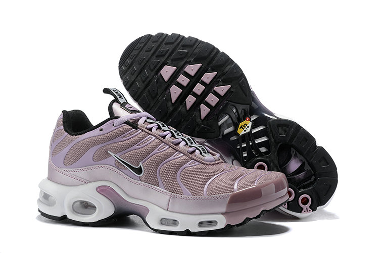 Cheap Wholesale Womens Nike Air Max TN Plus Sneakers Black Purple White - www.wholesaleflyknit.com