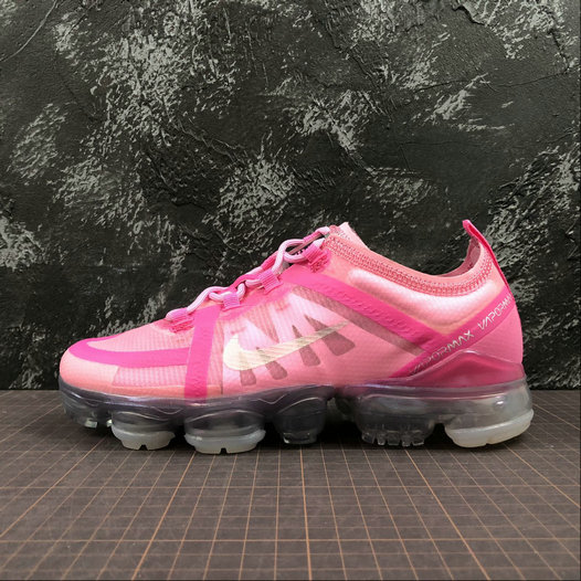 Cheap Wholesale Womens Nike Air VaporMax 2019 AR6632-600 Purple Red Mtllc Silver Pink Violet Argmet Rose - www.wholesaleflyknit.com