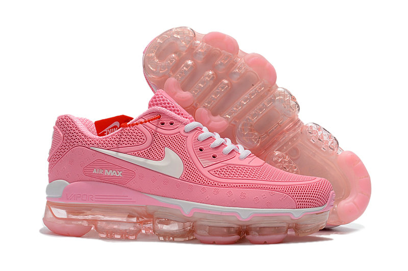 3dc36ebe0a857 Womens Nike Air VaporMax 90 Pink Colorful Wholesale Cheap -  www.wholesaleflyknit.com