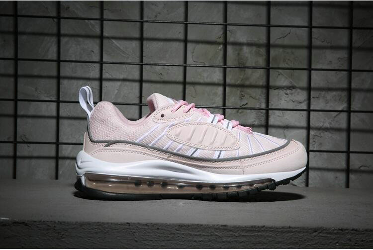 Wholesale Womens Nikes AIR MAX 98 RELEASING IN PINK AND PUMICE-www.wholesaleflyknit.com