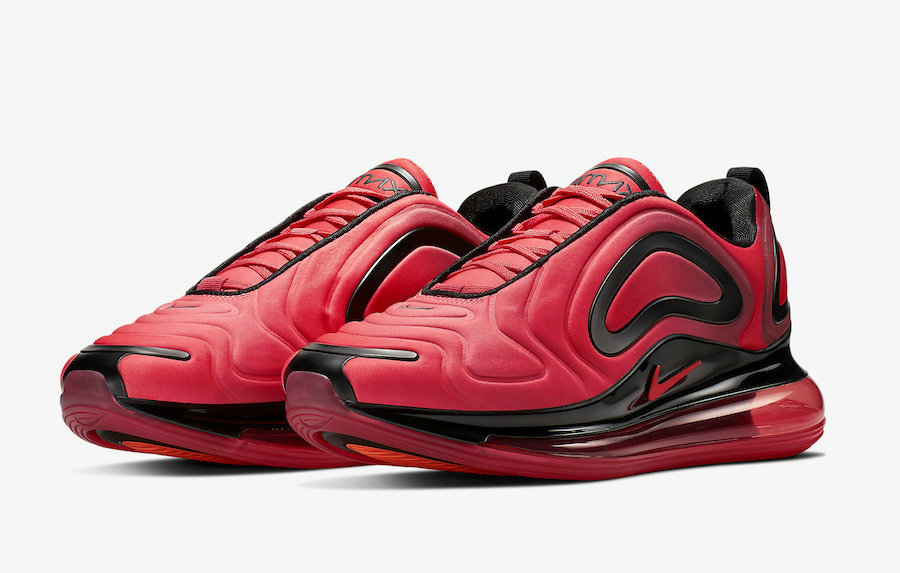 Wholesale Womens Nikes Air Max 720 Pink Black Noir AO2924-600-www.wholesaleflyknit.com
