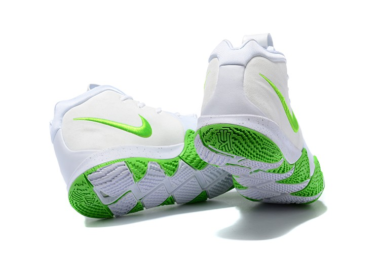 Wholesale Cheap 2018 Mountain Dew x Nike Kyrie 4 K.A.R.E. Kit White Green For Sale - www.wholesaleflyknit.com