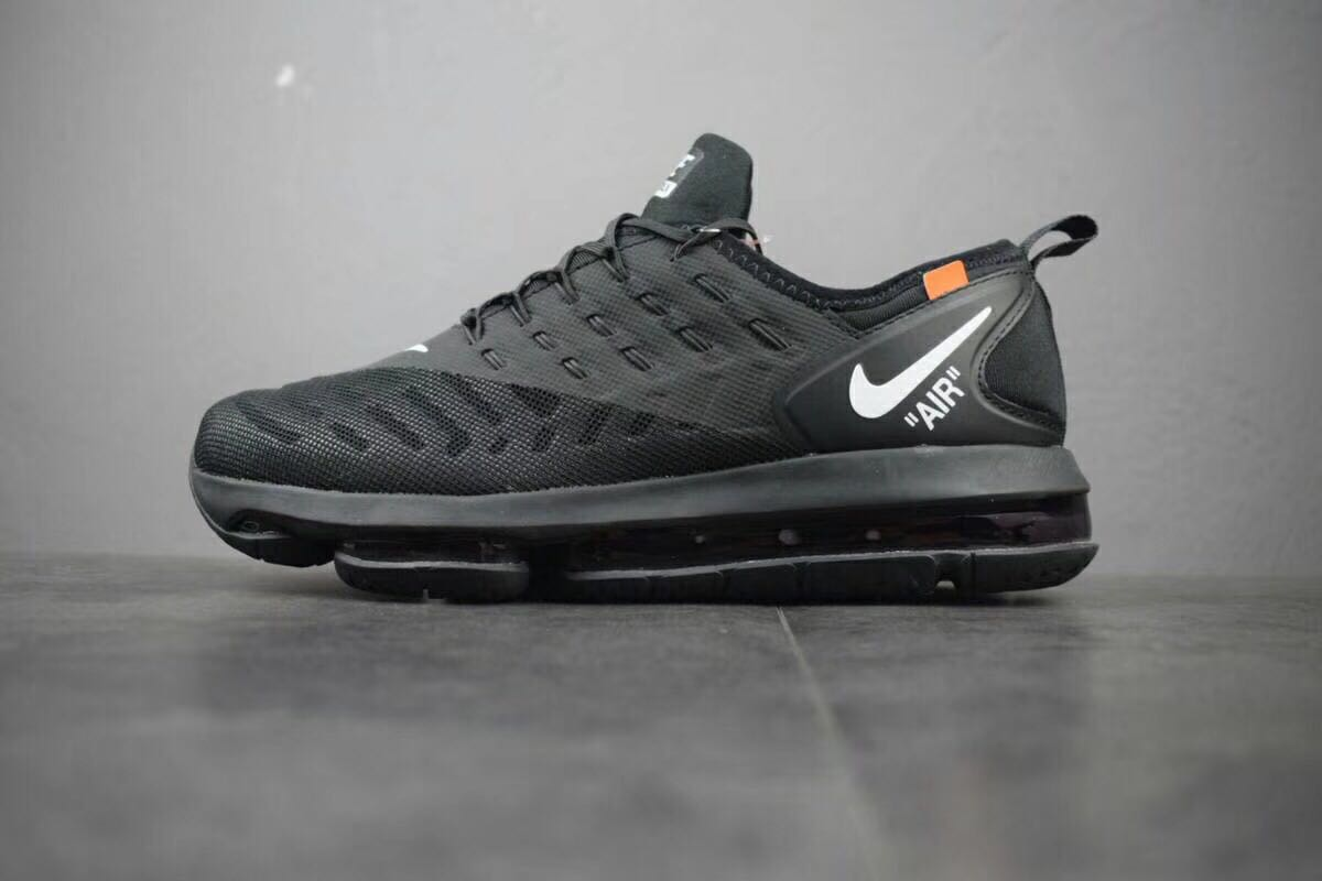 brand new 04b24 923dc ... 2018 NikeLab Air Max x Cheap Womens Nike Air Max 2019 OFF-WHITE Triple  Black ...