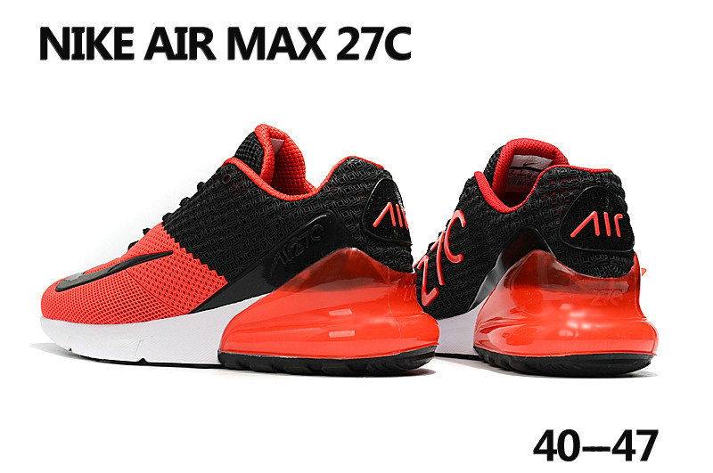reputable site d8ba9 56909 2018 Nike Air Max 270 Rubble Patch Red White Black Cheapest Wholesale Sale  - www.