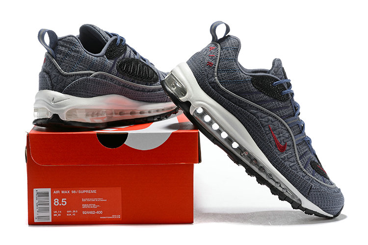 reputable site 234fd 704a2 2018 Nike Air Max 98 Colorways Grey Red Blue Black Cheapest Wholesale Sale  - www.