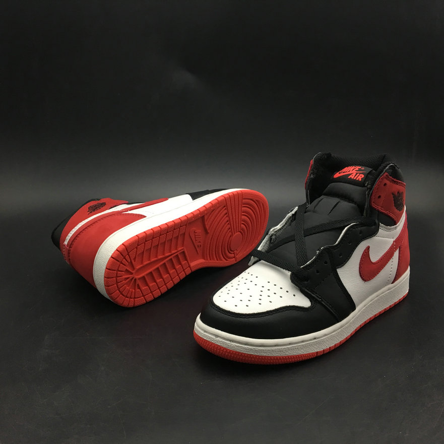 timeless design c00b7 80c09 ... 2018 Womens Nike Air Jordan 1 REBEL XX OG TOP 3 Red White Black  Cheapest Wholesale ...