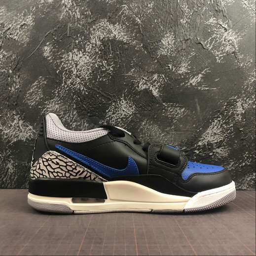 2019 Where To Buy Cheap Wholesale Nike Air Jordan LEGACY 312 LOW Black Game Royal White Noir Blanc Jeu Royal CD7066-041 - www.wholesaleflyknit.com
