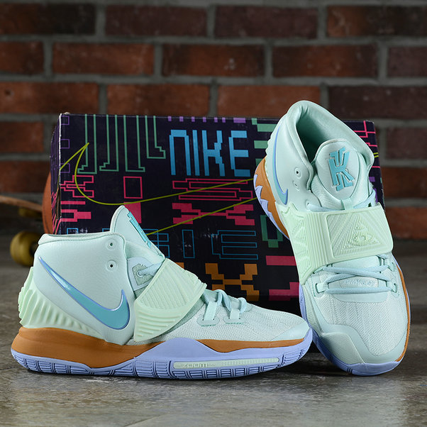 2019 Where To Buy Cheap Wholesale Nike Kyrie 6 Power Blue Gold - www.wholesaleflyknit.com