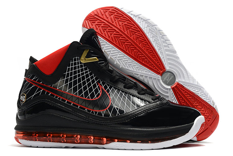 Where To Buy 2020 Nike LeBron 7 Black Varsity Red-White For Sale - www.wholesaleflyknit.com