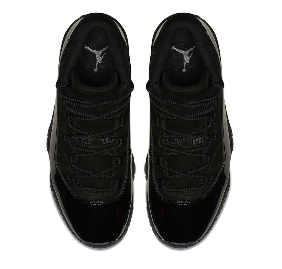 2021 Wholesale Cheap Nike Air Jordan 11 Cap and Gown Black-Black-Black 378037-005 - www.wholesaleflyknit.com