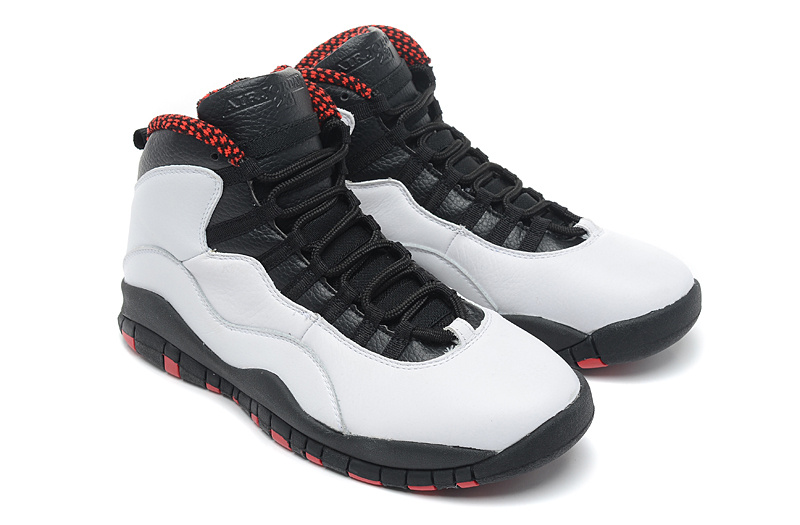 Wholesale Cheap Air Jordan 10 (X) Retro Chicago White Varsity Red Black For Sale - www.wholesaleflyknit.com
