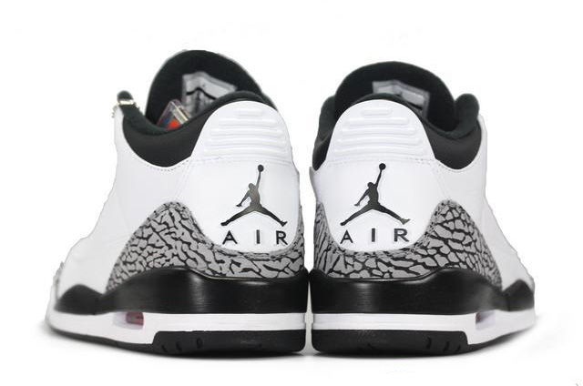 Wholesale Cheap Air Jordans 3 Retro White Black-Wolf Grey-Infrared 23 - www.wholesaleflyknit.com